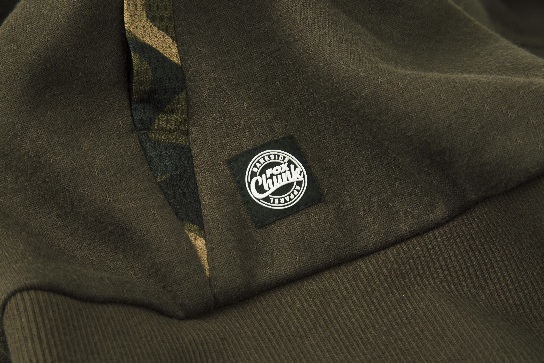 07bde035f2 Tepláková mikina Fox Chunk Dark Khaki Camo Hoody vel. M - Rybářské ...