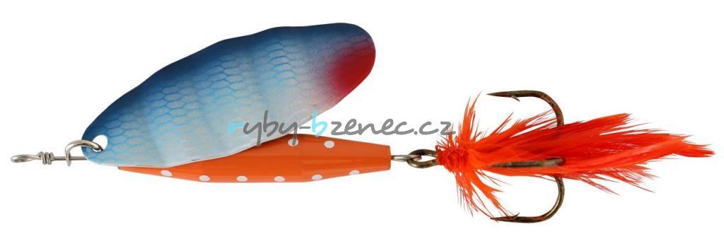 Abu Garcia Rotační třpytka Reflex Red 7gr BGL