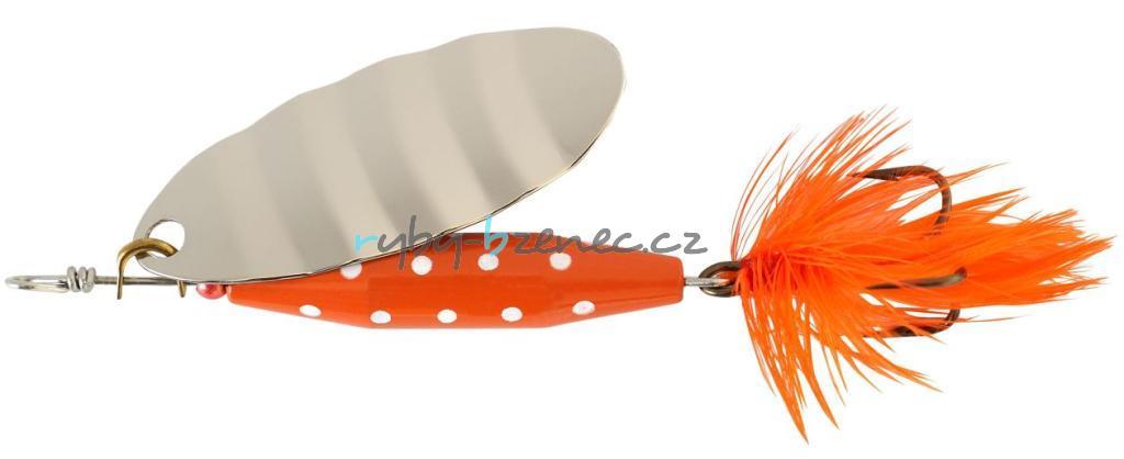 Abu Garcia Rotační třpytka Reflex Red 7gr S