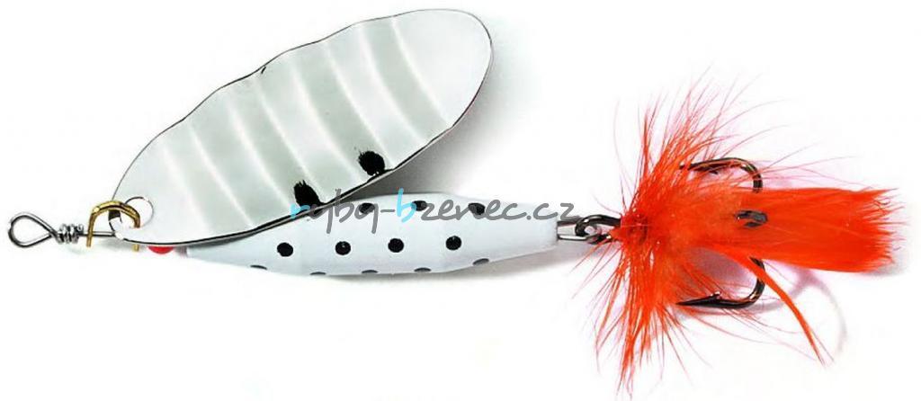 Abu Garcia Rotační třpytka Reflex White 12gr S