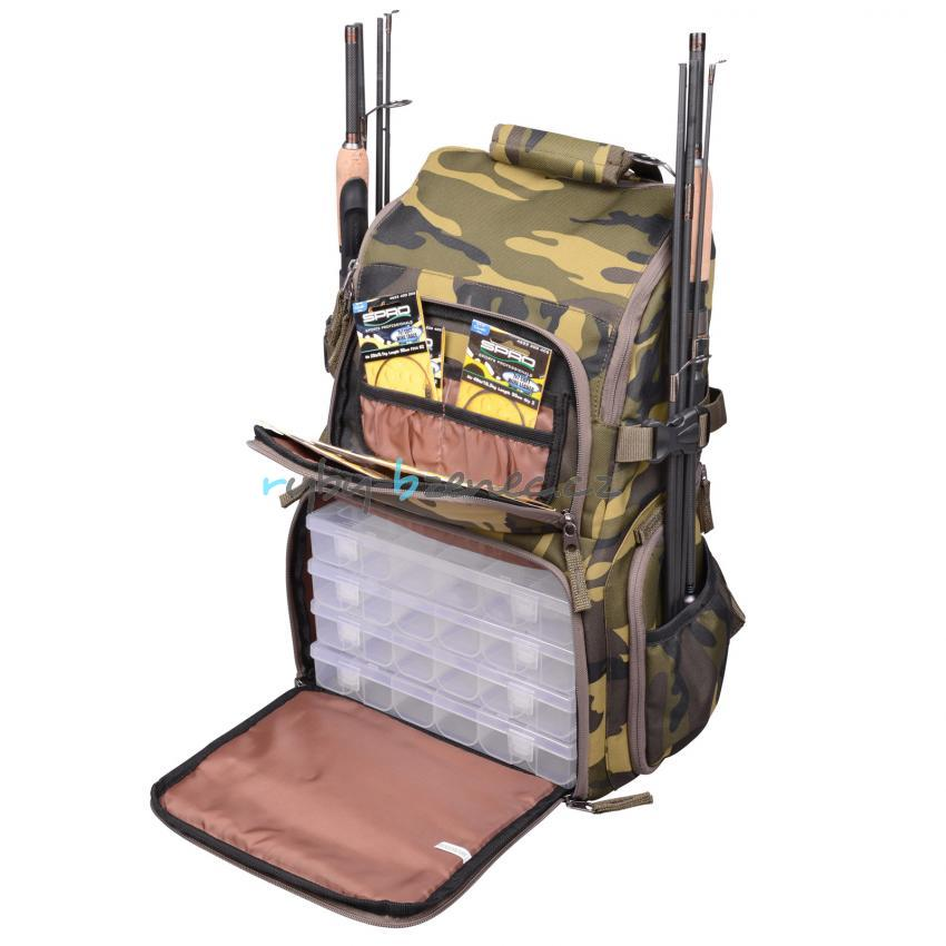Batoh SPRO Bag Pack 1 Camouflage