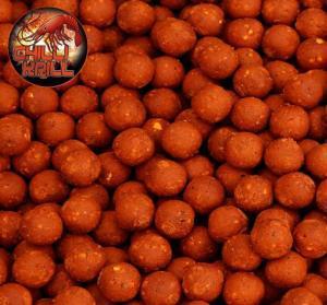 Black Carp Boilies Chilli - Krill 20mm 5kg