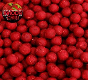 Black Carp Boilies Jahoda - Chilli 20mm 1kg