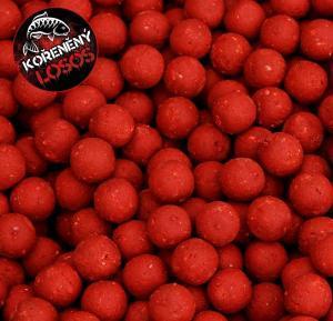 Black Carp Boilies Kořeněný losos 24mm 1kg