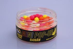 Black Carp Plovoucí boilies MINI POP-UP Banán 8mm 30gr