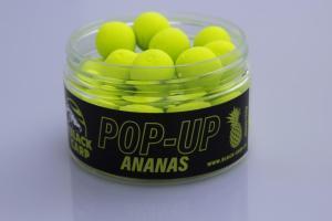 Black Carp Plovoucí boilies POP-UP Ananas 15mm 50gr