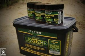 Boilie Jet Fish Legend Range Chilli Tuna/chilli  24mm 250gr