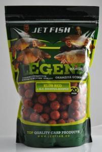 Boilie Jet Fish Legend Range Klub Red+A.C. Švestka/Scopex 20mm 1kg