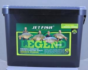 Boilie Jet Fish Legend Range Seafood+A.C. Švestka/Česnek 20mm 10kg