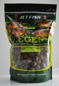 Boilie Jet Fish Legend Range Seafood+A.C. Švestka/Česnek 20mm 1kg