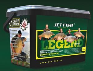 Boilie Jet Fish Legend Range Seafood+A.C. Švestka/Česnek 20mm 3kg