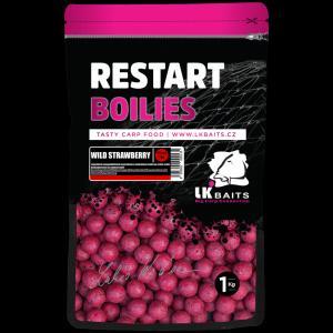 Boilie LK Baits ReStart Wild Strawberry 14mm 1kg