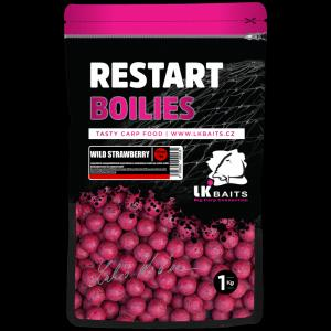 Boilie LK Baits ReStart Wild Strawberry 20mm 1kg