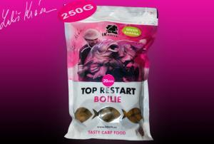 Boilie LK Baits Top ReStart Green Banana 18mm 250gr