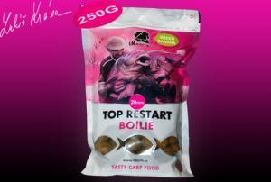 Boilie LK Baits Top ReStart Green Banana 20mm 1kg