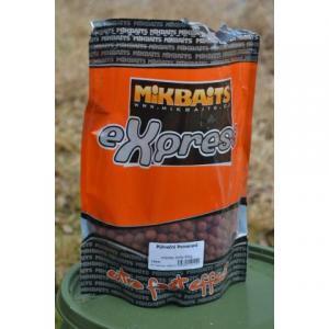 Boilie Mikbaits eXpress Půlnoční pomeranč 18mm 1kg