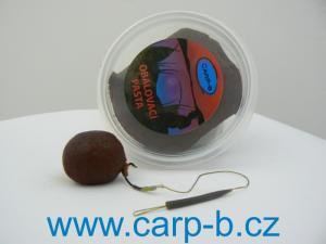 Boilie obalovací pasta Carp-B Jahoda+Halibut 120gr