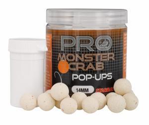 Boilies plovoucí Starbaits Pop-Ups Probiotic Monster Crab 14mm 60gr