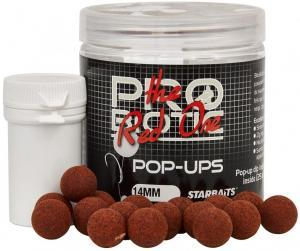 Boilies plovoucí Starbaits Pop-Ups The Red One 14mm 60gr
