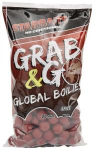 Boilies Starbaits Grab&Go Global Spice 20mm 1kg