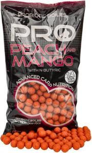 Boilies Starbaits Probiotic Peach & Mango 14mm 1kg