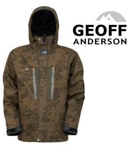 Bunda Geoff Anderson Dozer 6 Leaf vel. M maskáč