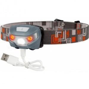 Čelová svítilna JAF Capture Cobra 3W-2R USB Charger