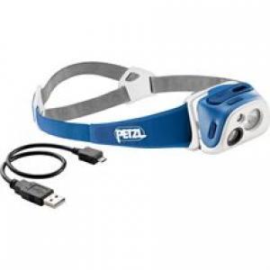 Čelová svítilna Petzl Tikka R+ modrá