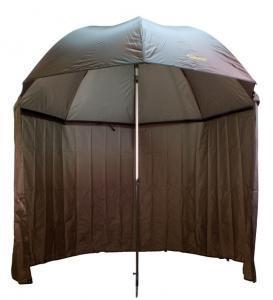 Deštník s bočnicí Delphin Nylon Green 2,5m