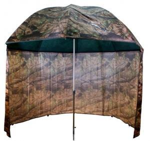 Deštník s bočnicí Delphin PVC Camou 2,5m