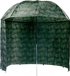 Deštník s bočnicí Mivardi PVC Camou 2,5m