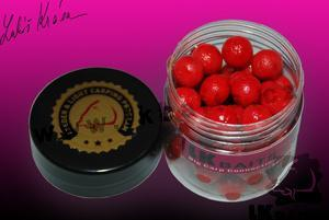 LK Baits Mini Boilies v dipu Wild Strawberry 12mm 150ml