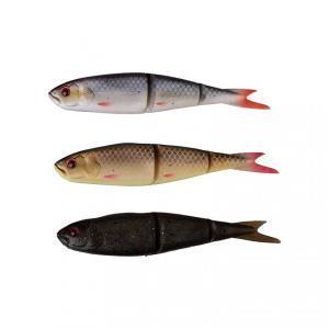 Gumová rybka SG LB Soft 4Play 9,5cm 7,5gr  Roach