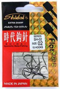 Awa-Shima Háčky Shidai SH-02 vel. 6
