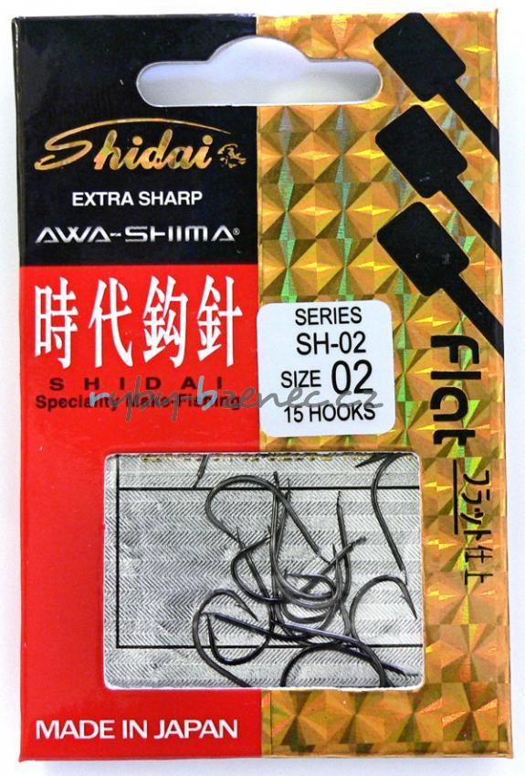 Awa-Shima Háčky Shidai SH-02 vel. 8