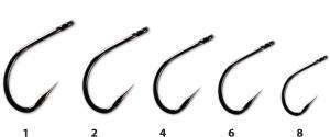 Háčky CarpLinq Anti Snag Hook 1 PTFE
