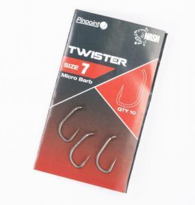 Háčky Nash Pinpoint Twister 7