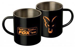 Hrnek Fox Stainless Steel Mug