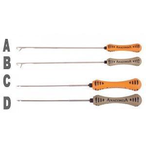 Anaconda Jehla na boilie Boilie Needle Long oranžová
