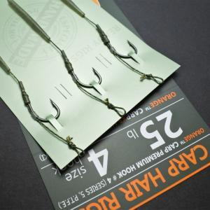Kaprový návazec Life Orange Carp Hair Rigs Series 5 vel. 8