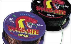 Kryston Návazcová šňůrka Snake Bite 15LB Green