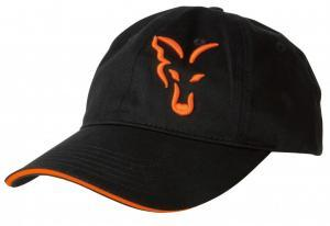 Kšiltovka Fox Black & Orange Baseball Cap