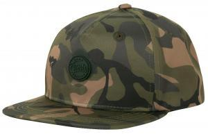 Kšiltovka Fox Chunk Camo Edition Flat Peak Snap Back Cap