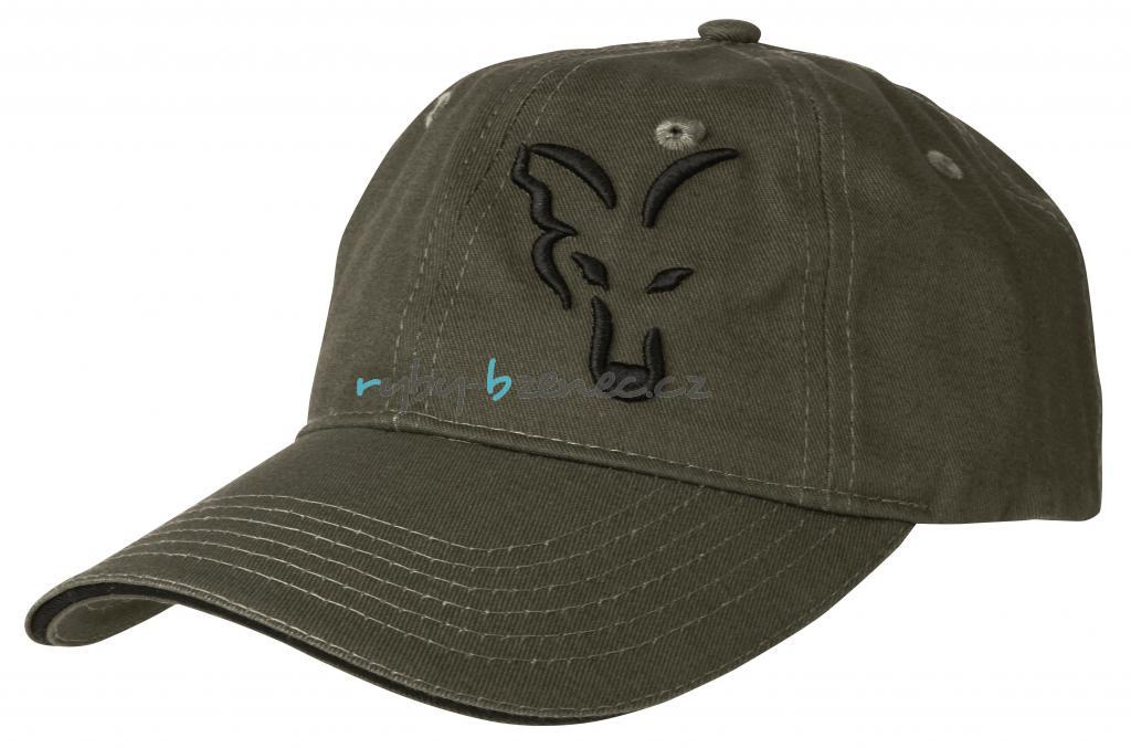 Kšiltovka Fox Green   Black Baseball Cap - Rybářské potřeby Bzenec 60b6a64824