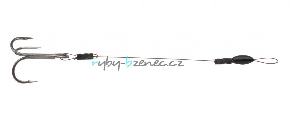 SPRO Lanko s trojháčkem Softbait Zander Stinger 7x7 Wire 6cm