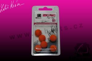 LK Baits ZIG RIG Pop–Up 14mm Orange