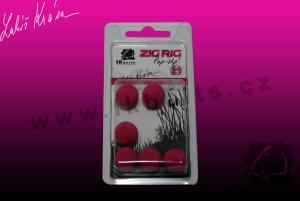LK Baits ZIG RIG Pop–Up 14mm Red