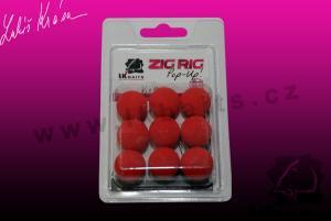 LK Baits ZIG RIG Pop–Up 18mm Red