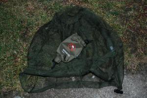 Moskytiera R-SPEKT khaki krátká uzavřená