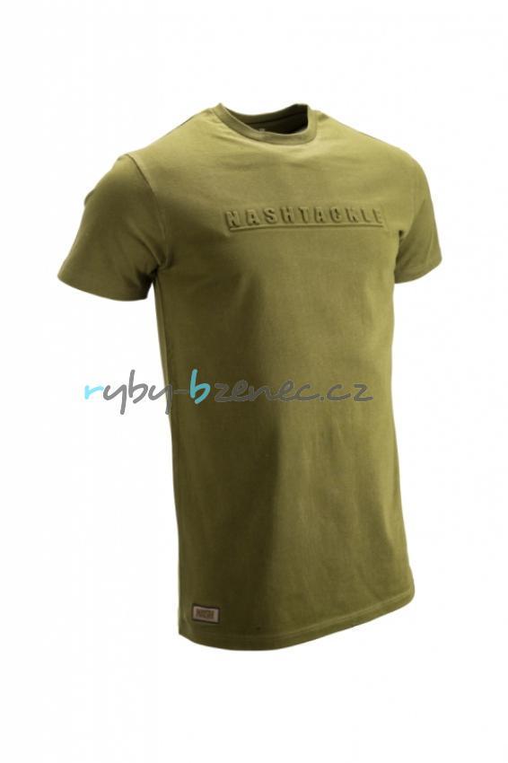 Nash Tričko Emboss T-Shirt vel. XL